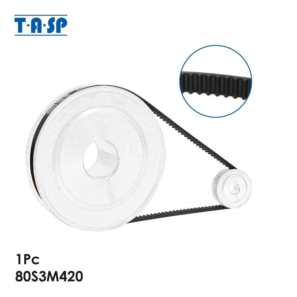 TASP 1pc Breadmaker Small Belt Bread Maker Spare Parts 80S3M420 for Gorenje BM1400E BM1200BK Binatone BM 2169 XBM 1228 538