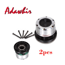 2 pieces x For SSANGYONG Korando II Musso SUV Rexton TD Musso Pick Up Free wheel Locking hubs B035 AVM450