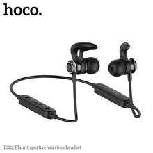 HOCO ES22 Magnetic Attraction Bluetooth Earphone Sport Running Hifi Headset Ear Hook Wireless Headphone for Mobile Phones New