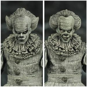 """Image 4 - Sdcc 2019 Pennywise Het Geëtst 7 """"2017 Movie Action Figure Stephen King Het Zwart En Wit B & W exclusieve Originele Neca Speelgoed Pop"""