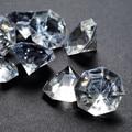 1000 шт 10 мм прозрачный акриловый Свадебный Стол Конфетти бриллианты разлетающиеся кристаллы украшения Бесплатная доставка - фото