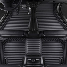 حصير سيارة مخصص 5 مقاعد لسيارة تويوتا rav4 c-hr هيلوكس كورولا كامري 2000 - 2020 4 عداء يارس اكسسوارات السيارات السجاد الفومبرا