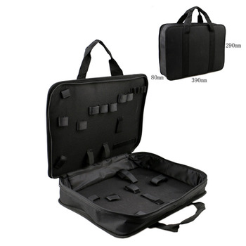 390x290mm Multifunction Home Tool Bag Electrician Tool Electric Drill Storage Case Bag Thickening Toolbox Instrument Case