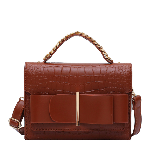 Vintage Fashion Female Tote bag 2019 New High Quality Leather Women's Designer Handbag Crocodile pattern Shoulder Messenger Bag