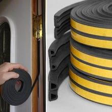 Предел 100 уплотнитель самоклеющаяся Резина дверное, оконное уплотнение лента рулон пены
