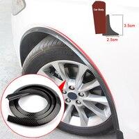 4pcs Car Fender Extension Wheel Eyebrow Protector Lip Wheel arch Trim Wheel Eyebrow Arch Strip Car Tires Eyebr Car Accessories