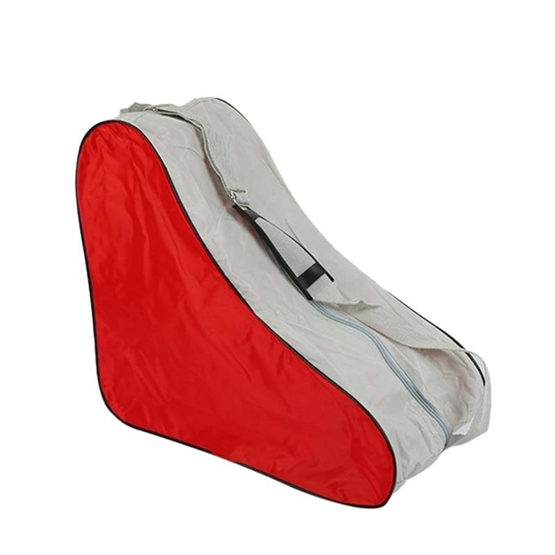 Professional Roller Skating Bag Handbag Universal Roller Skates Cover Storage Bag Skating Ice Skate Shoulder Strap Carry Case