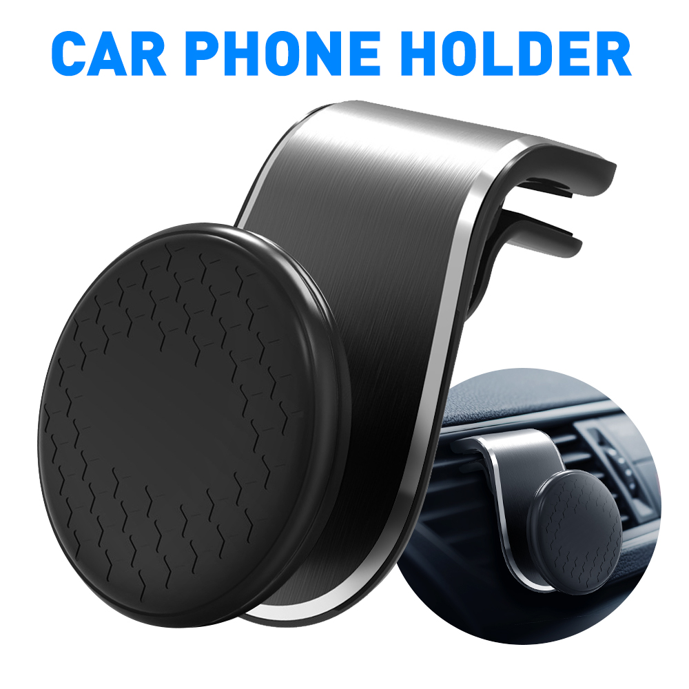 Mini <font><b>Air</b></font> Vent Clip Mount Magnet Mobile Stand Metal Magnetic Car Phone Holder For <font><b>BMW</b></font> E46 E90 E60 E39 E36 F30 F10 F20 F25 <font><b>E30</b></font> E34 image