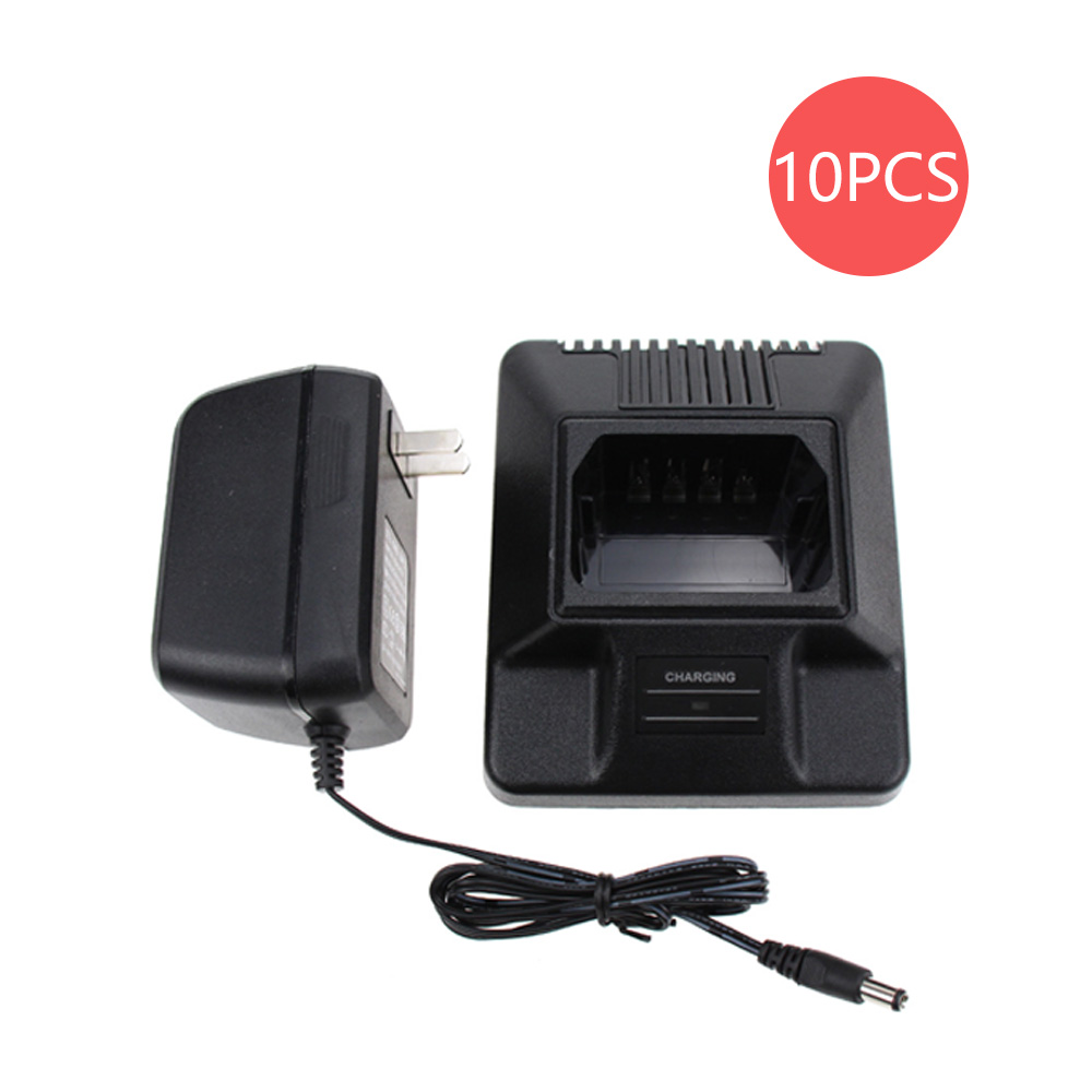 10X Walkie Talkie Charger For Motorola  HNN9701A HNN9808B WPNN4040 WPNN4040AR WPNN4044AR MTX638 P040 P080 CP450 Radios