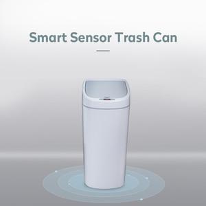 Image 2 - 10L Narrow Type Trash Can Zero Waste Recycle Bin Automatic Trash Bin Smart Kitchen Dustbin Touchless Garbage Rubbish Waste Bin