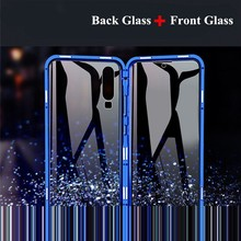 Arvin Case for iPhone 11 Pro XS Max XR X 6 6s 7 8 Plus Case Magnetic Double-side Glass Metal Frame Cover for iPhone 11 Pro Max new iphone case for iphone 11 for iphone11 pro max 5 8 inches 6 1 inches 6 8 inches 6 6s 7 8 plus ix xr max x fashion back cover