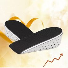 Men Women Height Increase Insoles Massaging Invisible Foot Pad Shoes Feet Care(China)