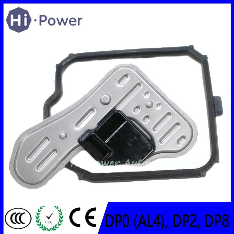 DP0 (AL4) DP2 DP8 New Auto Transmission Piston Filter Set For PEUGEOT Nissan CITROEN C2 C3 C4