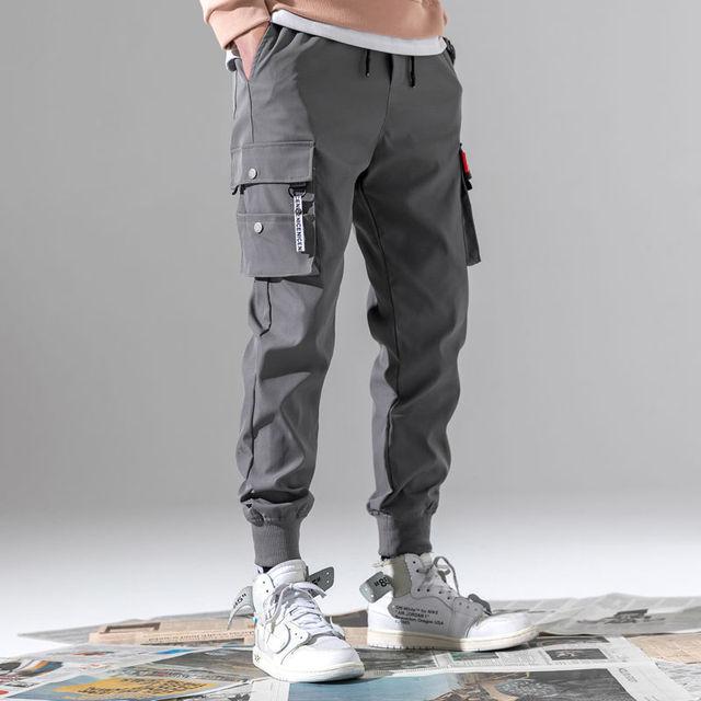 Pantalones de Golf finos para hombre, chándal táctico de trabajo de carga, ropa de verano para Primavera, poliéster, longitud hasta el tobillo, 2021 4