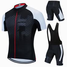2021 Team kolarstwo zestaw koszulek letnia odzież rowerowa Mountain Bike odzież odzież rowerowa MTB Bike odzież rowerowa kombinezon rowerowy tanie tanio CN (pochodzenie) 100 poliester 100 Polyester Z krótkim rękawem Bezpośrednia sprzedaż z fabryki 80 poliestru i 20 materiału Lycra