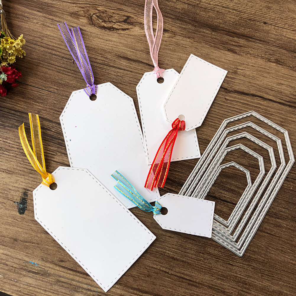 Scrapbooking & Paper Crafts Bookmark Border Punch Paper Tags