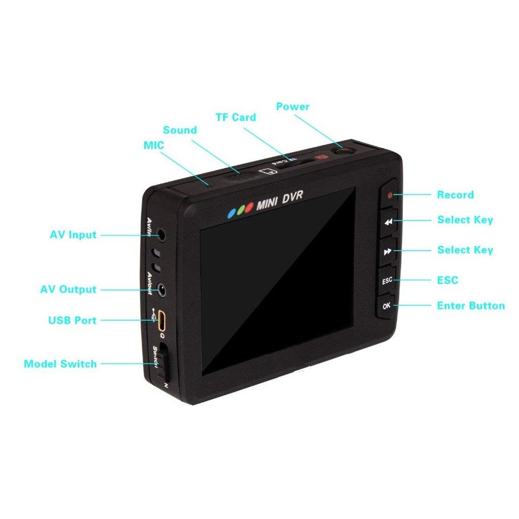 2.5 LCD Angel Eye Mini DVR Recorder Camera Portable Video G Sensor Recording Dash Cam