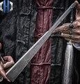 Tien-inch Fusang Titanium Legering EDC Vouwen Fan Staal Bone Tactiek Kung Fu Taiji Vechtsport Metalen Wapens Verdediging