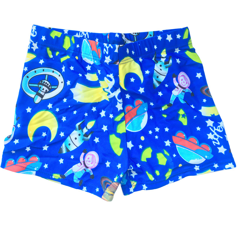 CHILDREN'S Swimming Trunks Ultra-stretch Breathable Quick-Dry Cartoon Big Kid Beach Shorts Boys' swimming trunks