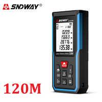 Télémètre Laser Mini télémètre 40m 70m 100m 120m télémètre laser ruban mesureur de Distance construire dispositif règle outils de test