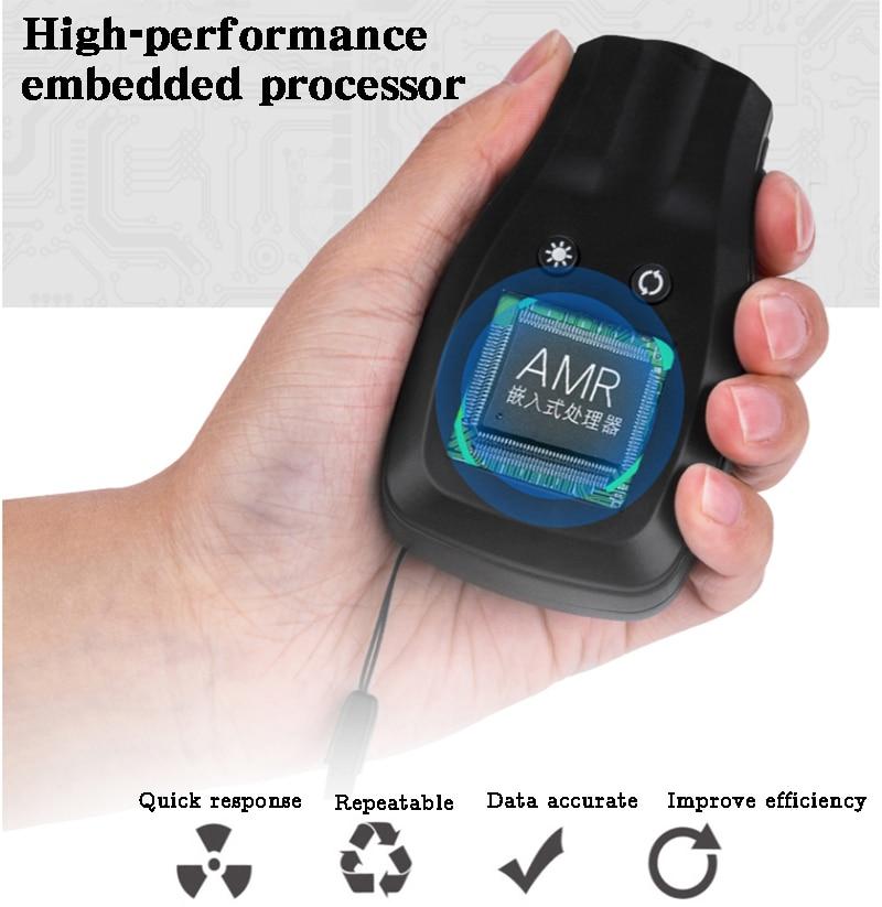 2019 Professional Alcohol Breath Tester Breathalyzer Analyzer Detector Test Keychain  Breathalyser Device LCD Screen