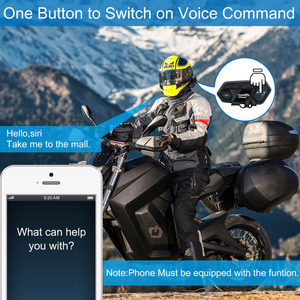 Image 5 - Fodsports M1 S Pro kask interkom kulaklık motosiklet su geçirmez interkom Bluetooth interkom 8 binici 2000M Intercomunicador