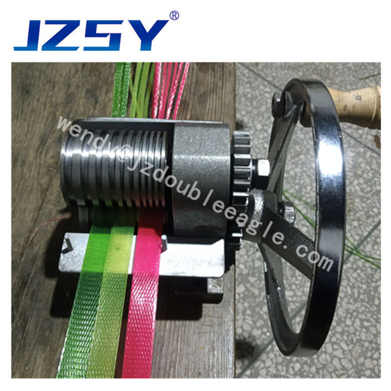 Best Selling Commercial Small Manual PET Strap Cutting Bar Machine/hand PP Ribbon Special Slitting Machine For Knitting