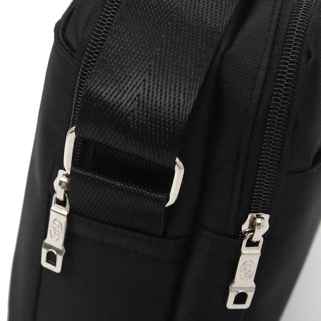Nova Moda Sacos De Ombro Para Homens Saco Do Mensageiro de Alta Qualidade À Prova D' Água Oxford Viagens de Negócios Saco Crossbody 820