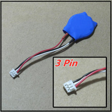 3 Pin bateria BIOS BIOS COMS Bateria Para Dell 1420 1520 1400 m1330 M6400