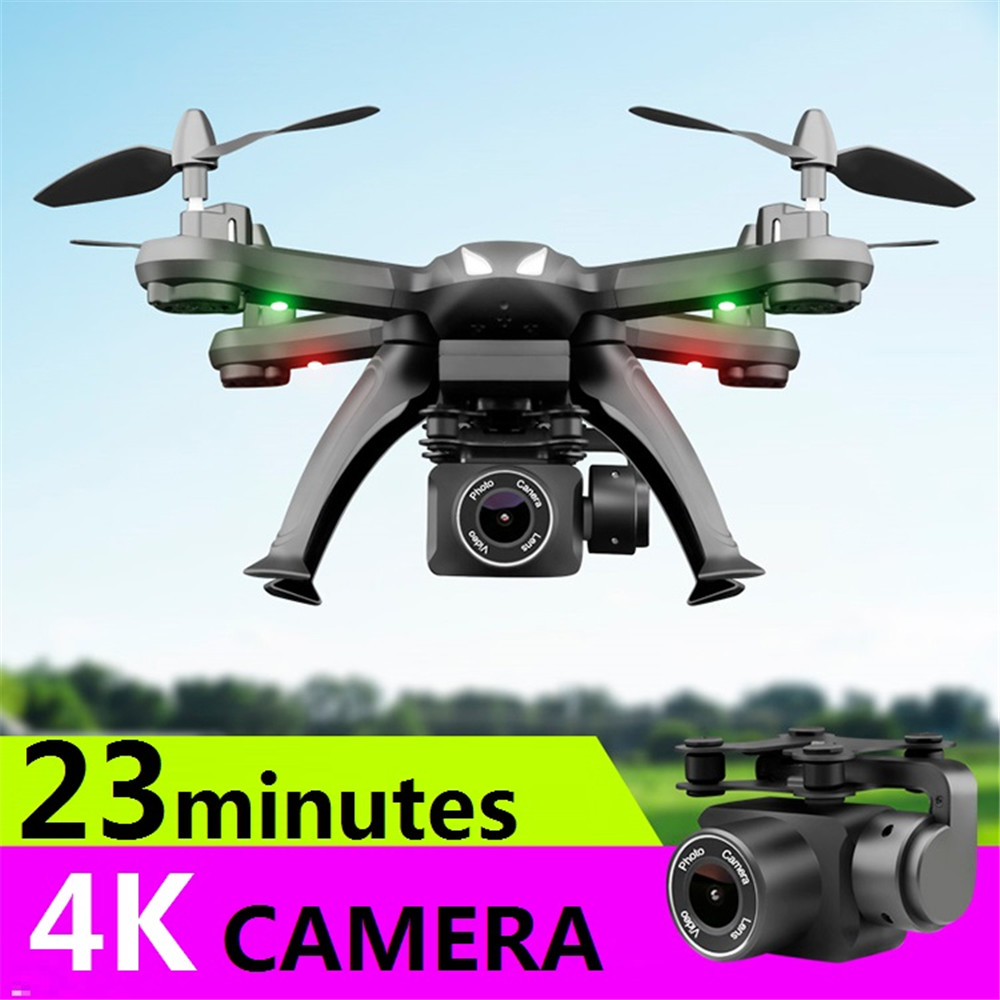 Drone X6S HD camera 480p / 720p / 1080p quadcopter drone one-button return flight hover RC helicopter all-round LED lighting FPV image