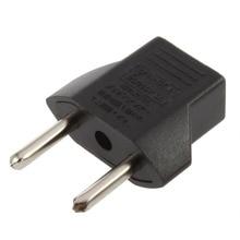 1 шт. ЕС штекер Адаптер 2 Pin в ЕС 2 Круглый контактный разъем электронный цифровой Европейский штекер Адаптер