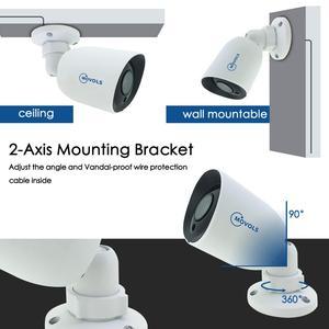 Image 4 - MOVOLS 5MP H.265 + אבטחת CCTV מערכת 16CH XVR מקורה חיצוני 16PCS 5MP עמיד למים HD CCTV מצלמה P2P מעקב מערכת סט