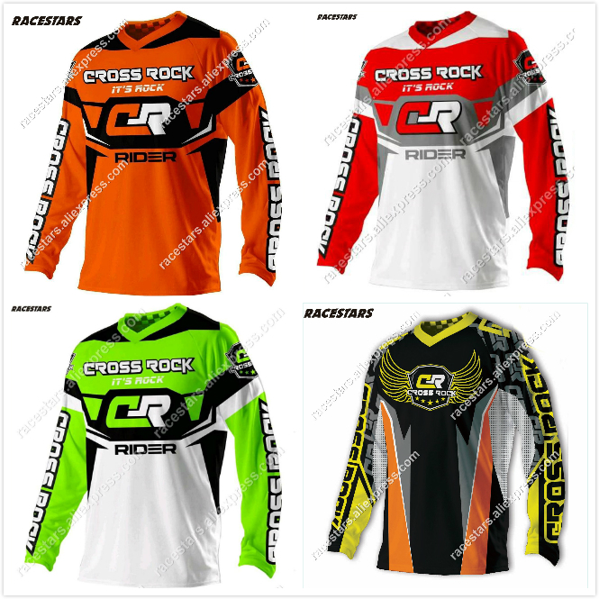 NEW Motcorss MX Ropa Ciclismo 2020 Bmx Motorcycle Spring Cycling Bike Thermal Windproof Jacket Barcelona Jersey Vikings Skinsuit