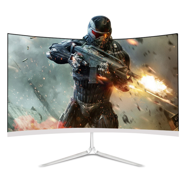 27 inch frameless curved 144Hz/165Hz/220Hz/<font><b>240Hz</b></font> gaming computer monitor with special lifting mount/ base image