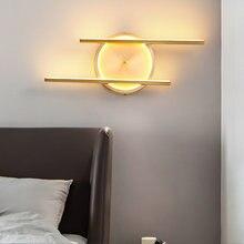 28 Вт золотой туалетный светильник настенный для спальни ночник