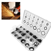 225 PCS Connection Sealing Ring Hardware Tools O Shape Rubber Gasket Assortment Washers Leakproof Bathroom Home Kitchen Plumbing|Gaskets| |  -