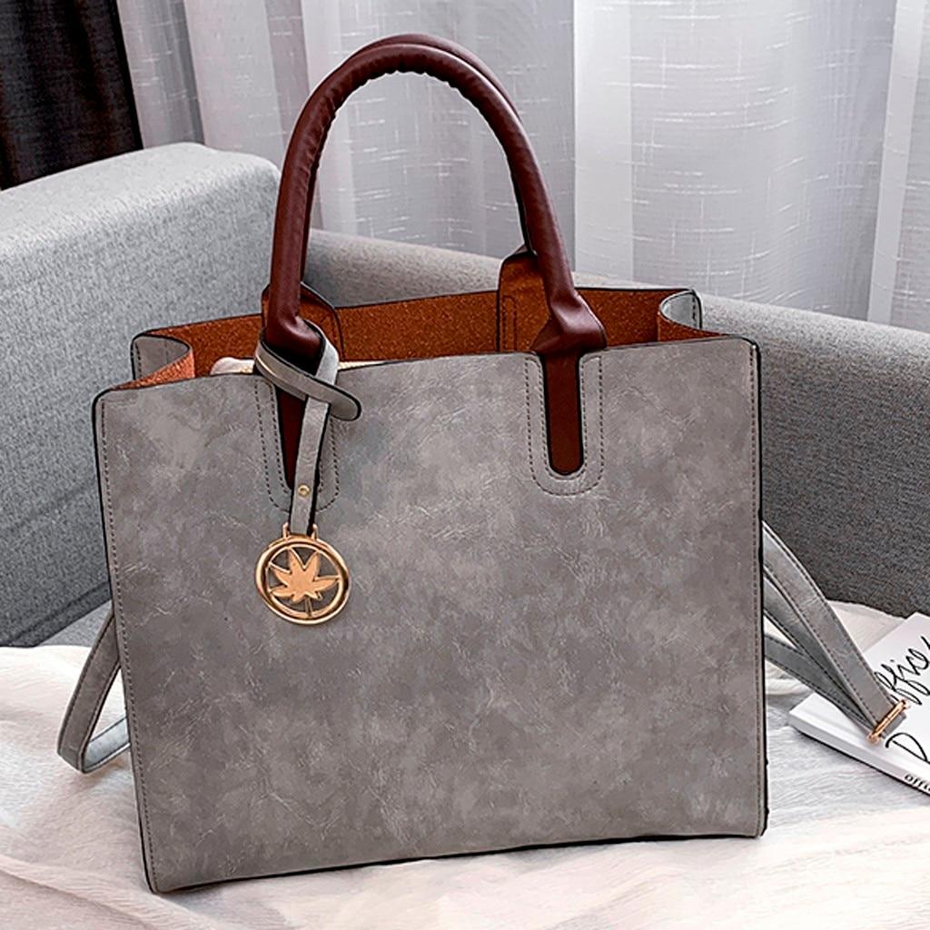 Ensemble sacs 3 pièces mode en cuir PU dames sac à main 73