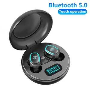 Wireless Earphones A10 TWS Bluetooth 5.0 Wireless HiFi In-Ear Earphones with Digital