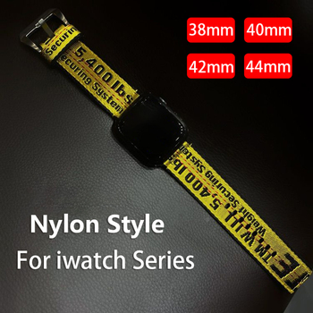 цена на 42mm 38mm loop Bracelet For iwatch strap 40mm 44mm Nylon Strap For Apple Watch band 5 4 3 2 1 series band 38mm 42mm Sport