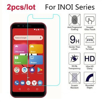 Перейти на Алиэкспресс и купить Закаленное стекло для inei 5i Pro 2.5D Премиум Защитная пленка для экрана для inei 5 2 6 Lite kPhone 4G 5i R7