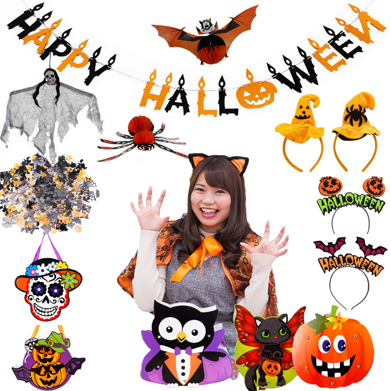 15g Spooky Halloween Confetti Pumpkin Spider Web Witch Bat Throw Confetti Sprinkle Home Festival Party Supplies Table Decoration|Party DIY Decorations|   - AliExpress