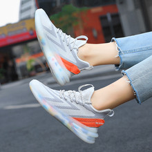 Classic Women's Vulcanize Shoes Lace-Up Casual sports shoes