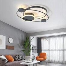 Bắc Âu Đơn Giản Đèn LED Ốp Trần Hiện Đại Acrylic Phòng Khách Ấm Lãng Mạn Đèn Phòng Ngủ Ngủ Điều Khiển Từ Xa Mới Ốp Trần