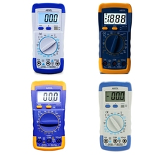 A830L LCD dijital multimetre DC AC gerilim diyodu Freguency çok fonksiyonlu Volt Tester testi akım voltmetre ampermetre ölçer göstergeleri