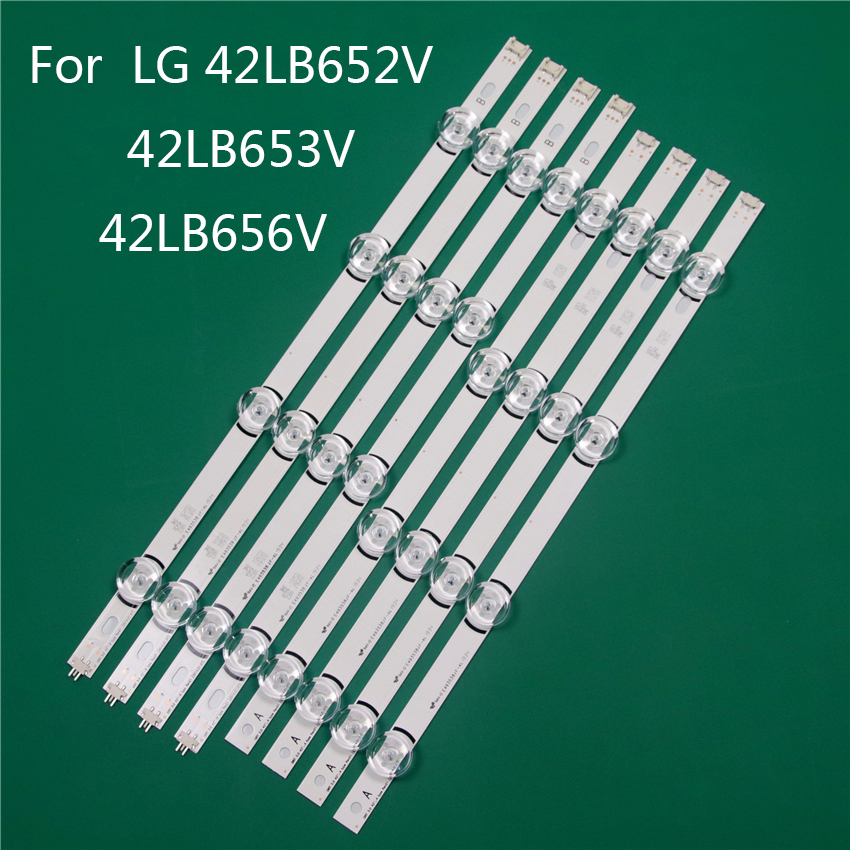 LED TV Illumination Part Replacement For LG 42LB652V 42LB653V 42LB656V 42 Inch LED Bar Backlight Strip Line Ruler DRT3.0 42 A B