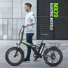 Электрический велосипед 48 В, электрический велосипед с толстыми шинами 4,0, электрический велосипед с мощным фэтбайком, семейный прогулочный велосипед, электрический велосипед с усилителем
