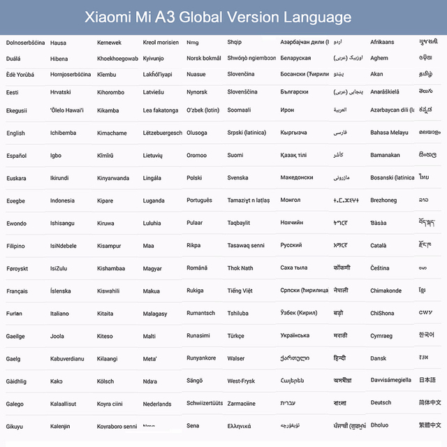 Global Version Xiaomi Mi A3 MiA3 4GB 64GB Smartphone Snapdragon 665 Octa Core 6.088 2