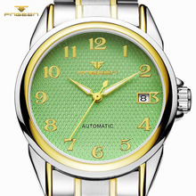 Fashion Watches Man's Luxury Brand FNGEEN Watch Automatic Mechanical Men Wristwa