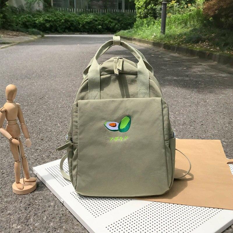 Female Laptop Backpack Waterproof Travel Bag Women's Small Bagpack Cute Fruit Backpacks Casual School Bags For Teenage Girls
