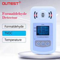 OUTEST Formaldehyde detector gas analyzer Air Quality Analyzer VTOC alarm HCHO sound and light alarm Large LCD backlight|Gas Analyzers| |  -